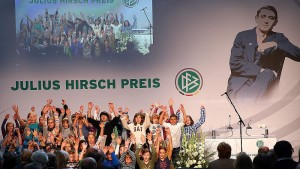 Verleihung Julius-Hirsch-Preis (Quelle: www.dfb.de)