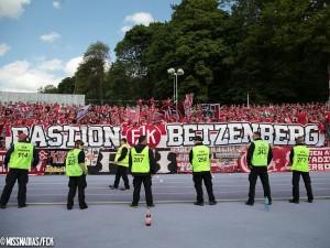 Bastion Betzenberg - zumindest hinten hielt die Bastion. Quelle: www.fck.de