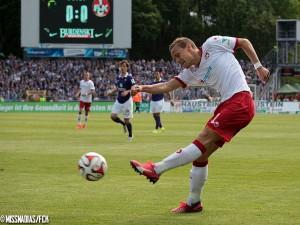 Schussgewaltig mit zwei guten Chancen, Chris Löwe. Queele: www.fck.de