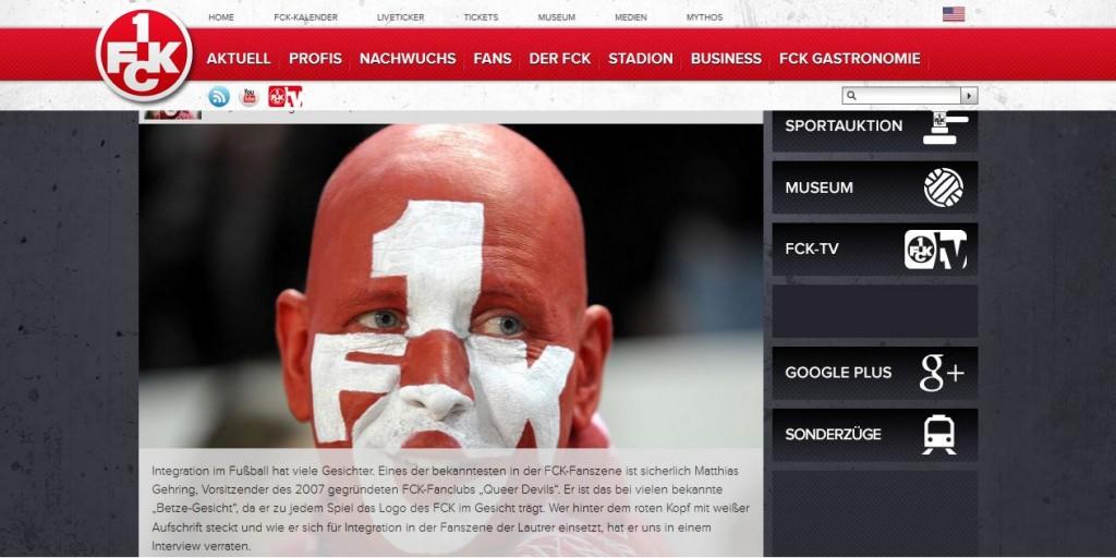 Screenshot FCK.de