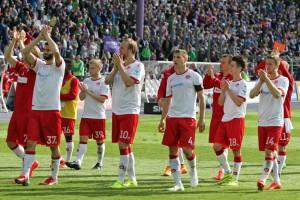 Trotz Enttäuschung, Dank an die mitgereisten Fans. Quelle: www.der-betze-brennt.de