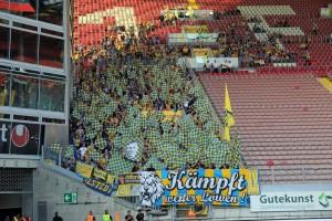 Auch die Braunschweiger Fans wedelten kräftig mit (Quelle dbb.de)