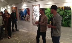 """Zeigten sich """"geflasht"""" und zufrieden, Veranstalter Lars Diehmer und Daniel Ferino... (©mg)"""