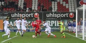 Torflaute - Kacper Przybylko vergab auch gestern wieder beste Chancen (Quelle: www.der-betze-brennt.de)