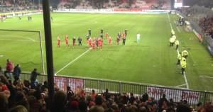Trotz Niederlage, Applaus für die Roten Teufel (©mg)
