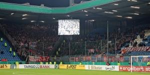 Knapp 2.000 Gästefans wollten gestern den FCK sehen (Quelle: www.der-betze-brennt.de)