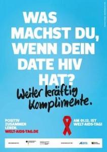 "Kampagne ""Positiv zusammen leben"" (www.welt-aids-tag.de)"