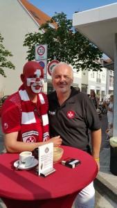 Zu Gast bei Klaus Hatzenbühler in Schifferstadt (©mg)