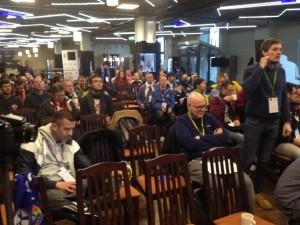Über 100 Delegierte auf Schalke (©mg)