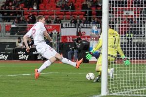 Jan Dodi Bödvarsson erzielte gestern sein erstes Tor für den FCK. Am Ende hat das dennoch nicht gereich (Foto: www.der-betze-brennt.de)