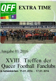 """Neues Magazin """"Extra-Time"""" (Ausgabe 01-2016)"""