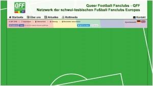 Frische Farbe, hohe Fußball-Affinität, neue Webseite der QFF