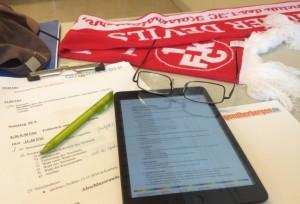 Zwei Tage konzentrierte Arbeit an einer langen Agenda (Foto: mg)