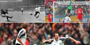Deutschland-England, legendäre Paarungen (Foto: kicker)