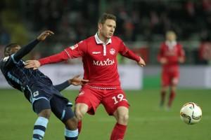 FCK gegen TSV 1860 München Gestern auch glücklos und hinter seinen Möglichkeiten, Marcel Gaus (Foto: Thomas Füssler)