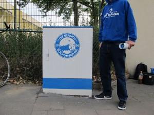 Graffiti-Projekt des Fanprojektes Bochum (Foto: Fanprojekt Bochum)