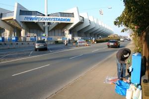 Spielstätte des VfL Bochum, rewirPOWER Stadion an der Castroper Straße (Foto: Fanprojekt Bochum)