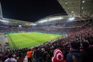 Die WM-Arena in Leipzig bald nicht mehr ausreichend? (Foto: RB Leipzig; motivio/Florian Eisele)