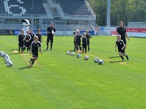 Auch für den Nachwuchs professionells Training (Foto: SV Sandhausen)