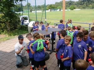 Direkter Kontakt zu den Profis auch für die Jüngsten (Foto: SV Sandhausen)