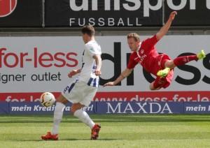 Defensiv stark, nach vorne auch gestern etwas zu wenig; Marcel Gaus (Foto: Thomas Füssler)