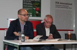 Die Autoren Andreas Erb und Dirk Leibfried (Foto: 1.FCK)