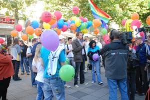 IDAHOT-Aktion aus dem Jahr 2011 (Foto: mg)