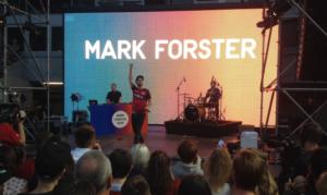 Mark Forster bildete mit seinem Auftritt den Abschluss zu einem tollen Tag am Betzenberg (Foto: mg)