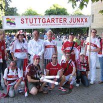 Die Stuttgarter Junxx, seit 2004 fester Bestandteil der schwäbischen Fanszene (Foto: Stuttgarter Junxx e.V.)