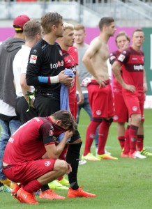 Frustrierte Akteure vor frustrierten Fans (Foto: Thomas Füssler)