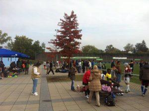 ...als auch im Freien gab es schon Turnierteilnahmen (Foto: FC Welcome Neustadt)