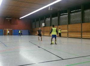 ...und im Winter in einer Neustadter Sporthalle (Foto: FC Welcome Neustadt)