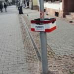 Pfandkiste in der Lauterer Altstadt und... (Foto: Frenetic Youth)