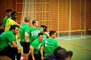 Sowohl in der Halle... (Foto: FC Welcome Neustadt)