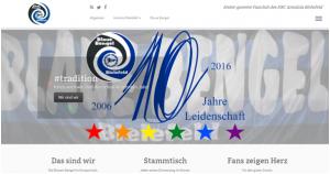 Total schicke Bengel-Webseite (Bild: Blaue Bengel)