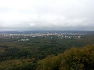 Blick auf Lautern vom Humbergturm (Foto: Pfalzgraf)