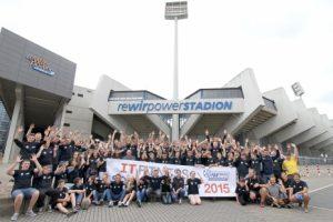 Teilnehmer des IT-Fitness Sommercamp 2015 (Foto: Fanprojekt Bochum)