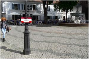 ...am Martinsplatz (Foto: Frenetic Youth)