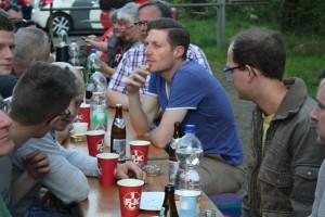 Gut besucht und viel Raum für Begegnung, Grillfest der Queer Devils zum IDAHOT (Foto: mg)