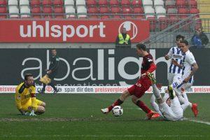 Hatte die Führung in der 5. Minute auf dem Fuß, Marcel Gaus (Foto: www.der-betze-brennt.de)