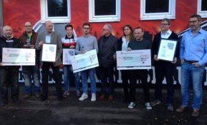 Die Gewinner des ToG-Preises und Vertreter des AWO-Fanprojektes (Foto: ed)