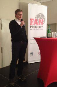 Leiter des AWO-Fanprojekts, Christian Hirsch (Foto: mg)