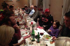 Gemütliche und gut besuchte Weihnachtsfeier (Foto: mg)