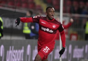 Torschütze zum 3:0 in der 79. Minute; Osayamen Osawe (Foto: Thomas Füssler)