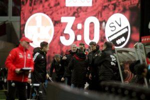 Am Ende gewann der FCK verdient mit 3:0 gegen den SV Sandhausen (Foto: Thomas Füssler)