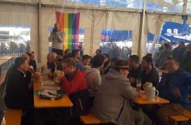 Auftakt am Freitag im Festzelt auf der Lauterer Kerwe beim Come-Together (Foto: RosaTeufel)