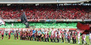 Das neu formierte Team des FCK ging gestern baden (Foto: www.der-betze-brennt.de)