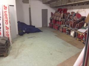 Entrümpelter Raum unter 6.1...fragt nicht wie's da vorher ausgesehen hat (Foto: mg)