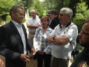 Unter den Gästen auch FCK-Vorstandsvorsitzender Thomas Gries (Foto: mg)