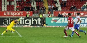 Hatte in der Nachspielzeit Führung auf dem Fuß, Christopher Moritz (Foto: www.der-betze-brennt.de)